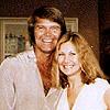 Diane with Glen Campbell in Wichita, Kansas