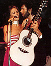 Sami Jo with Eddie Rabbitt in 1982